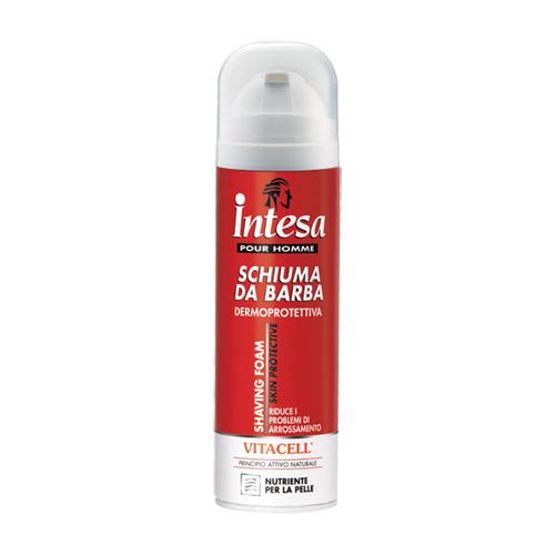 Intesa Schiuma Da Barba Dermoprotettiva Con Vitacell 300 Ml