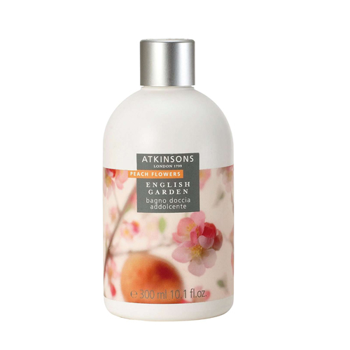 Atkinsons English garden  Peach Flowers  Bagno doccia tonificante 300 ml