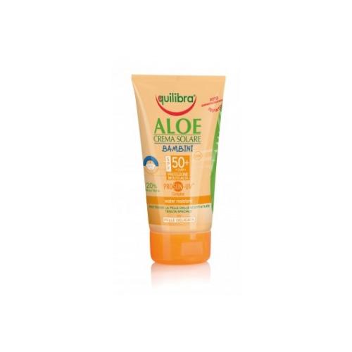 Equilibra  Aloe crema solare bambini spf 50 150 ml