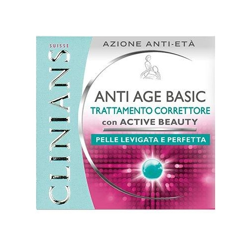 Clinians Anti Age Basic Crema Antieta Viso 50 ml