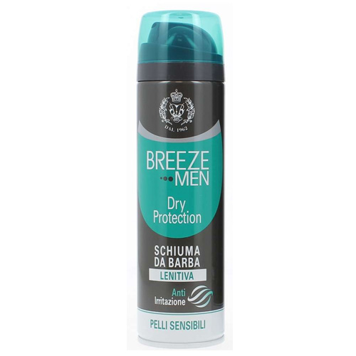 Breeze Men Dry Protection Schiuma da Barba Lenitiva 200 ml