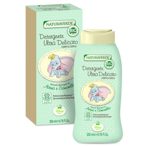 Disney Naturaverde Bio Detergente Ultra Delicato Corpo  Capelli 200 ml