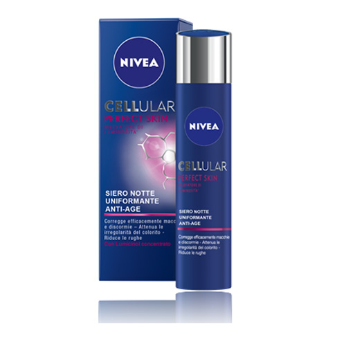 Nivea Cellular Perfect Skin Siero Notte 40 ml