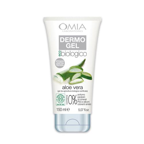 Omia Dermo Gel Lenitivo Viso Copro Aloe Vera 150 ml