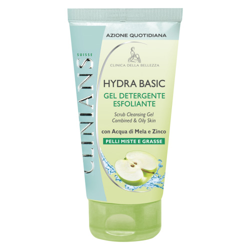 Clinians Hydra Basic Gel Detergente Esfoliante 150 ml