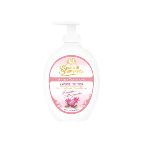 Spuma di Sciampagna Sapone Liquido Peonia e Magnolia 250 ml