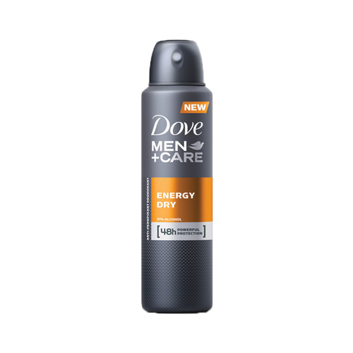 Dove MenCare Energy Dry Deodorante Spray 150 ml