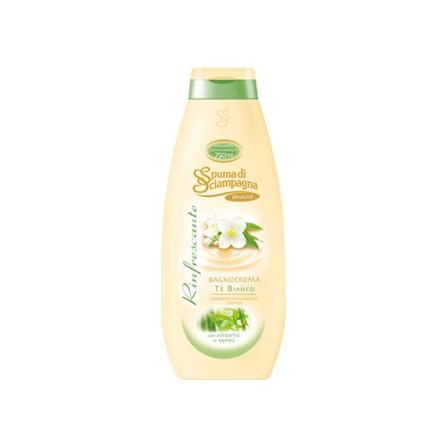 Spuma di Sciampagna Bagno Crema Rinfrescante T Bianco 750 ml