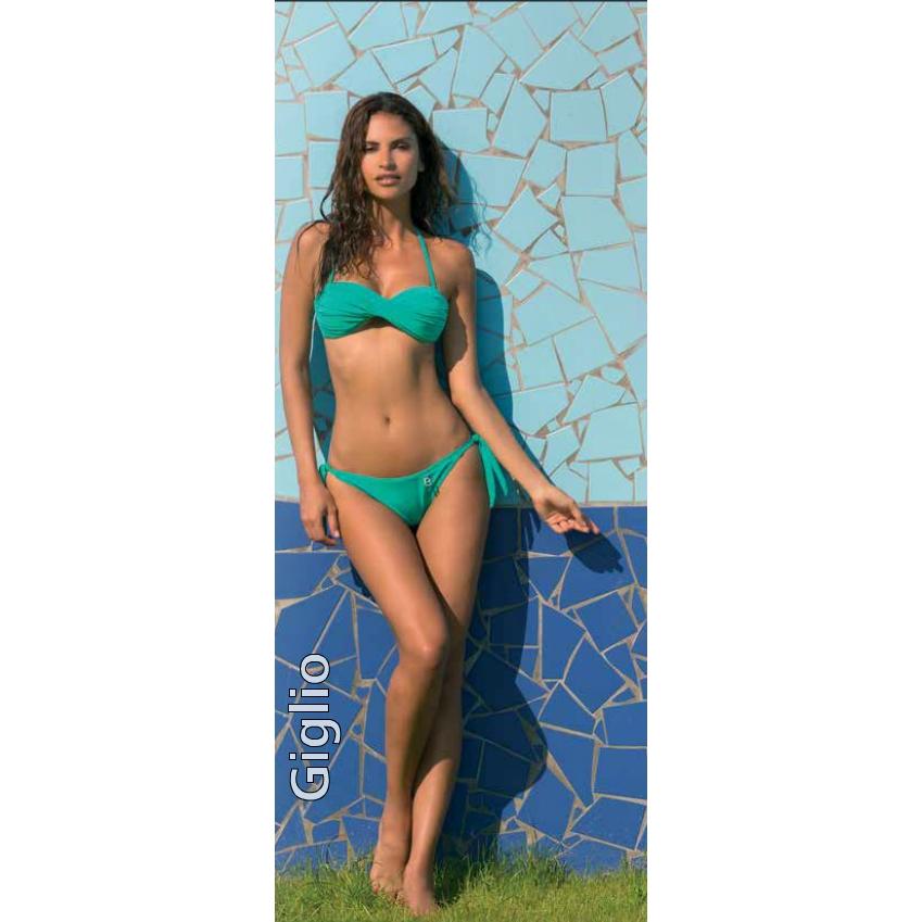 Bellissima Giglio bikini costume mare donna atlantis tg 40