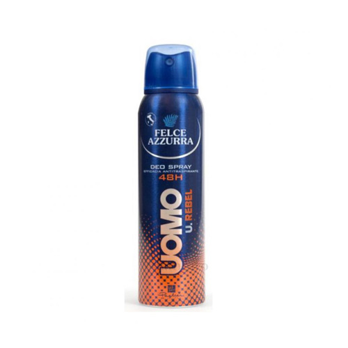 Felce Azzurra Deodorante Spray Uomo 48H Rebel 150 ml