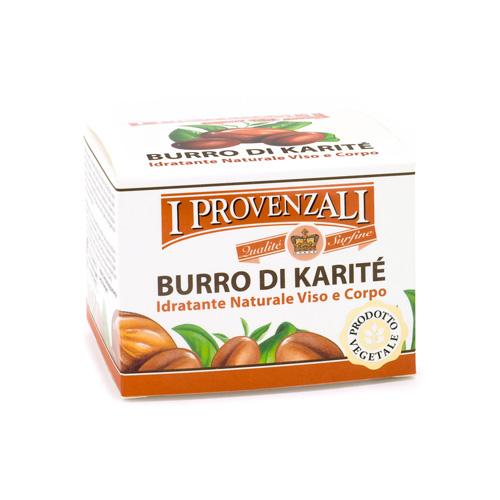 I Provenzali Burro di karite Idratante Naturale VisoCorpo 100 ml