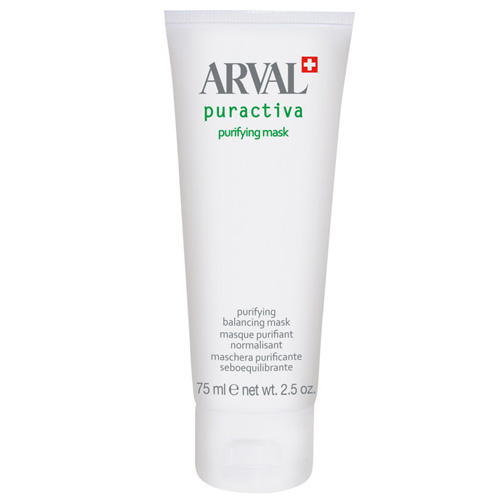 Arval Puractiva Purifying Mask Maschera purificante seboequilibrante 75 ml