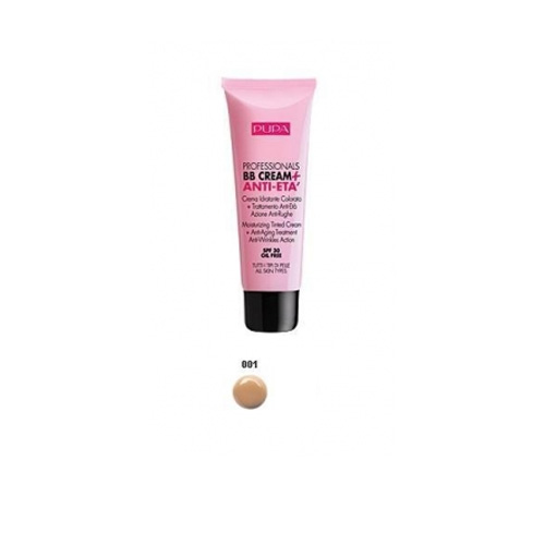 Pupa  Professionals bb cream  antiet  crema colorata 001 nude