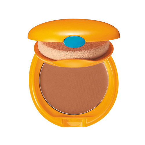 Shiseido Tanning Compact Foundation SPF 6 Honey Fondotinta Compatto Abbronzante