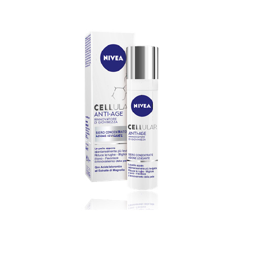 Nivea Siero Concentrato Per Il Viso Cellular Anti Age 40 Ml