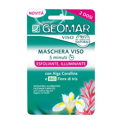 Geomar Maschera Viso Esfoliante 15 ml