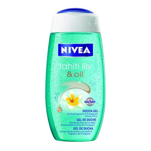Nivea Doccia Schiuma Tahiti Lily  Oil 250 Ml