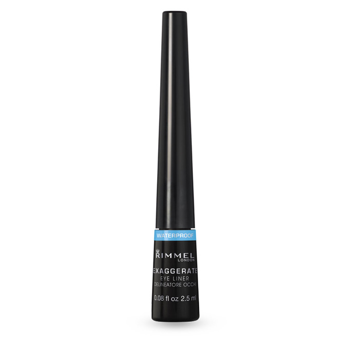 Rimmel EXAGGERATE Eyeliner Waterproof Glossy Black