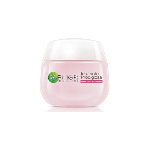 Garnier Skin Naturals Idratante Prodigiosa Crema Viso Pelli Secche o Sensibili 50 ml