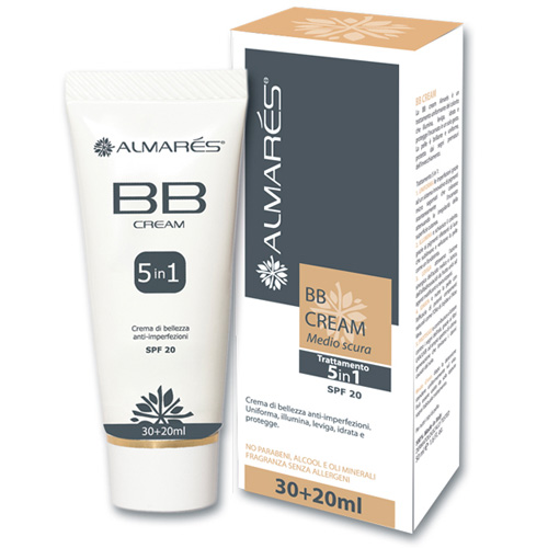 Almars BB Cream Colore Medio Scura 50 ml