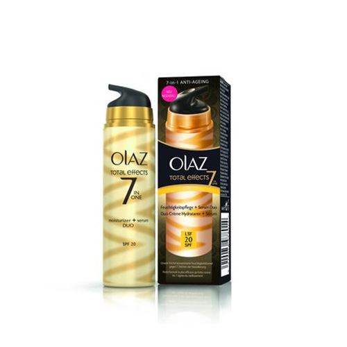 Olaz Total Effects Duo Total Effects Idratante  Siero SPF20 40 ml