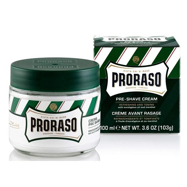 Proraso Crema Pre Barba Rinfrescante E Tonificante AllEucalipto Nuova Formula 100Ml