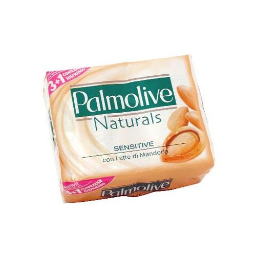 Palmolive Sapone Solido Con Latte Di Mandorla Naturals Sensitive 100 G 4 Saponette