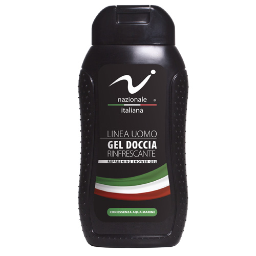 Nazionale Italiana Linea Uomo Gel Doccia Rinfrescante 300 ml