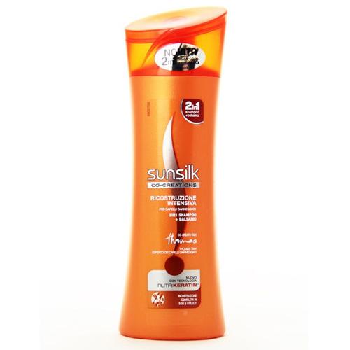 Sunsilk Shampoo E Balsamo Per Capelli Ricostruzione Intensiva 250 Ml