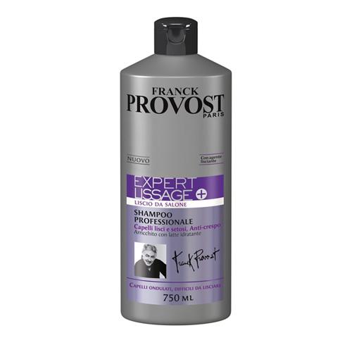 Franck Provost Expert Lissage Shampoo Professionale Per Capelli Difficili Da Lisciare 750 Ml