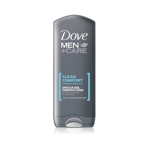 Dove Doccia GEL Uomo MenCare Clean Comfort 2 In 1 VISO E Corpo 250 Ml