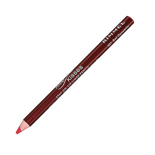 Rimmel Lasting Finish 1000 Kisses Lip Liner Matita Labbra 021 Red Dynamite