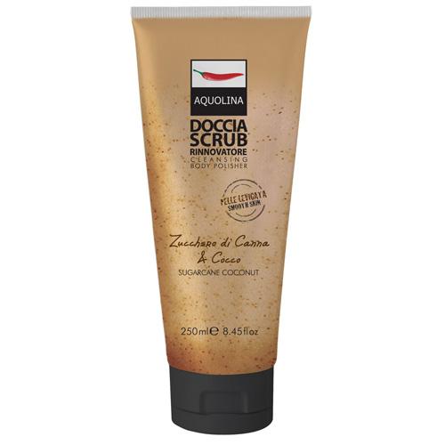 Aquolina Classica Doccia Scrub Zucchero di Canna e Cocco 250 ml