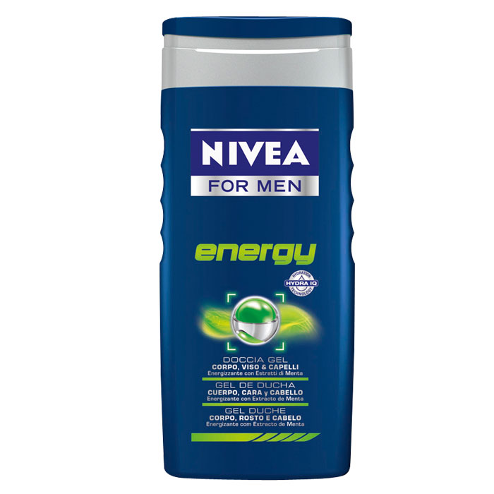 Nivea Doccia Schiuma Gel For Men Energy 250 Ml