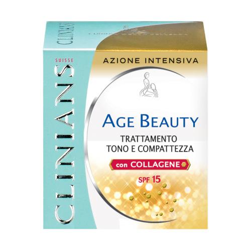 Clinians Age Beauty Crema Pelli Mature Trattamento Tono E Compattezza SPF15 50 ml