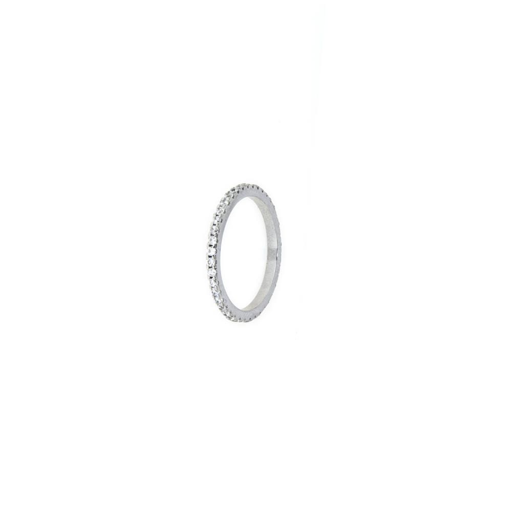 Paclo 11Z055IPRR99X Anello Argento Dim 12 ITCh 6 Usa 2 mm