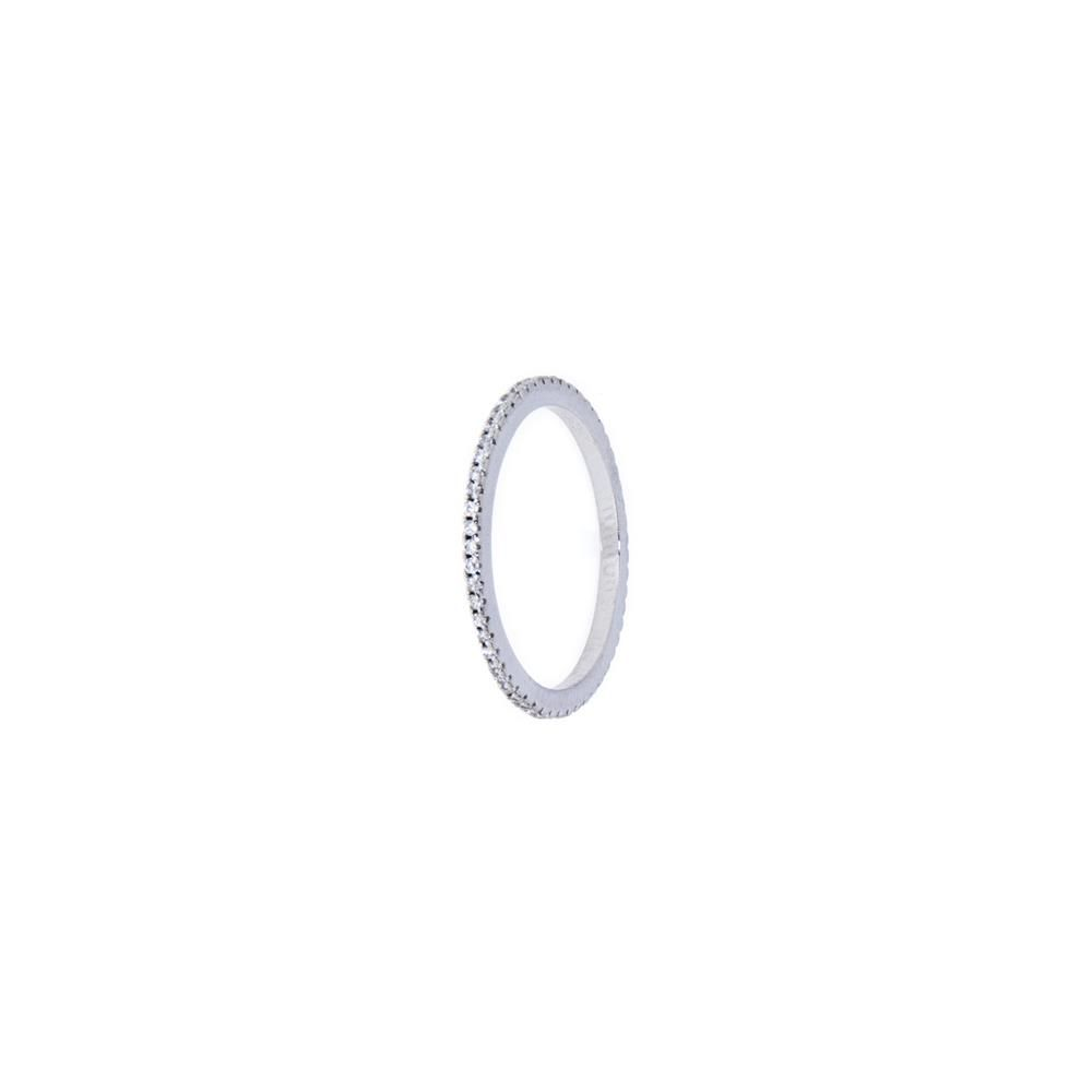 Paclo 11Z056IPRR994 Anello Argento Dim 9 ITCh 45 Usa 14 mm