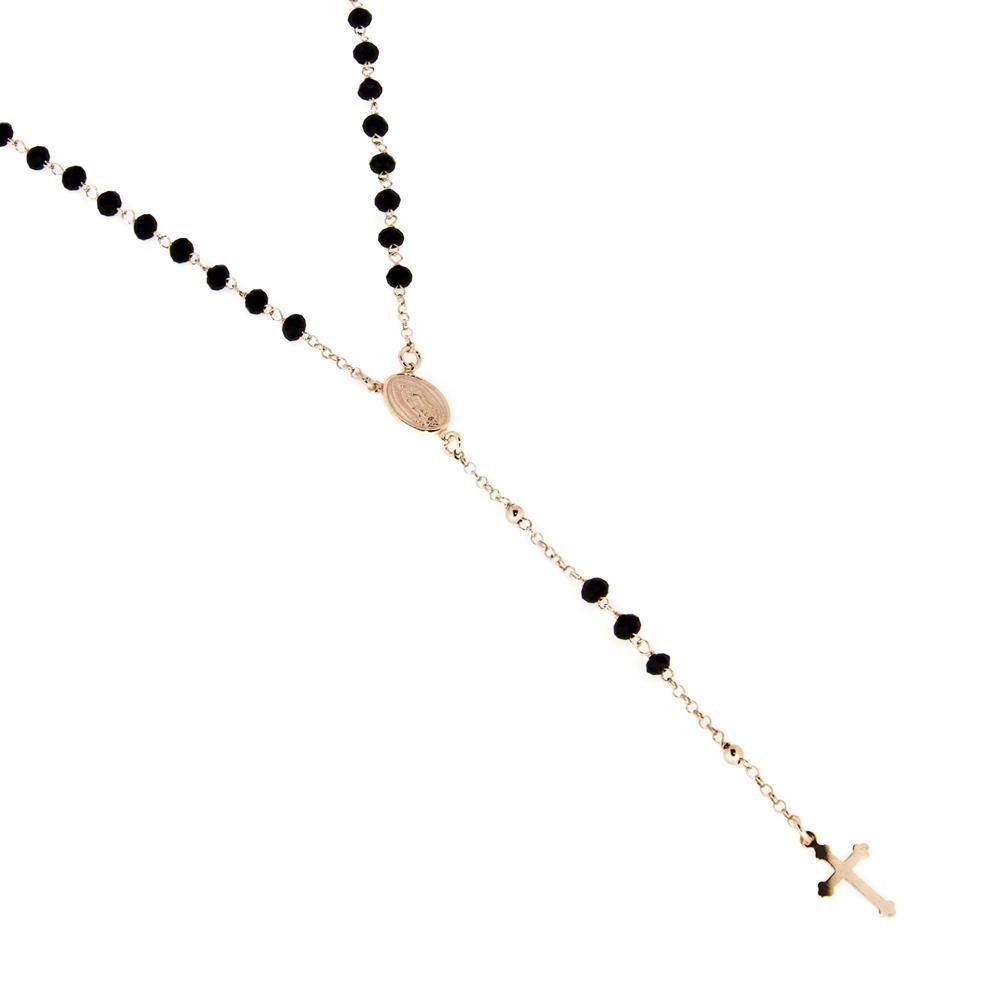Paclo 14SA29REKP999 Rosari Galvanica Rose Motivo Religioso