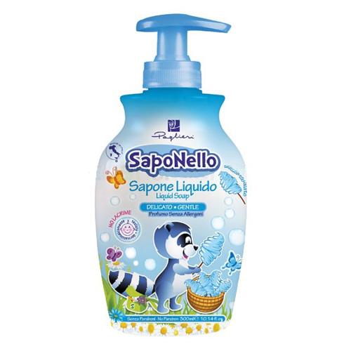 Saponello Sapone Liquido Zucchero Filato 300 ml