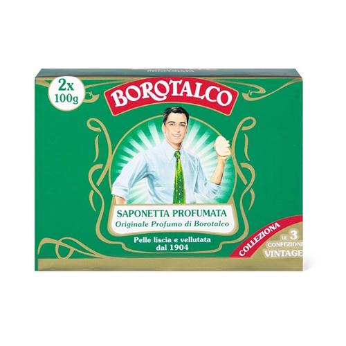 Borotalco Sapone solido 2x100g