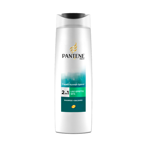 Pantene Lisci Effetto Seta 2 in 1 Shampoo e Balsamo 250 ml
