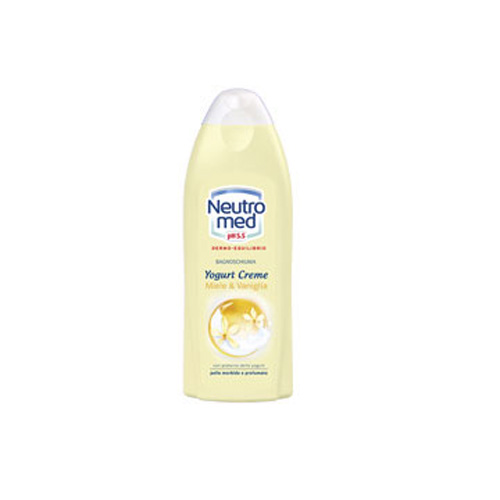 Neutromed Doccia Schiuma Con Yogurt Miele E Vaniglia 250 Ml
