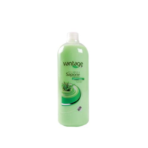 Vantage Sapone Liquido Aloe Vera Ricarica 1000 ml