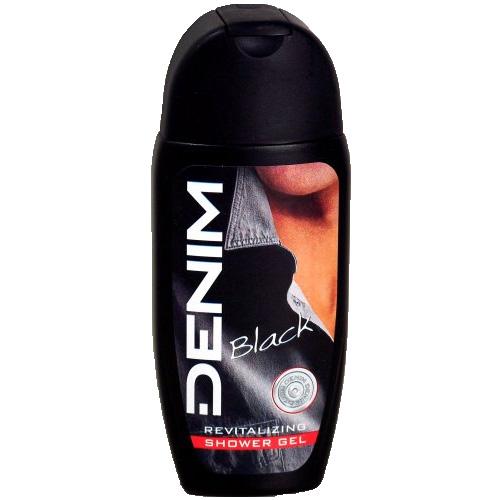Denim Doccia Schiuma Uomo Black In Gel Energizzante 250 Ml