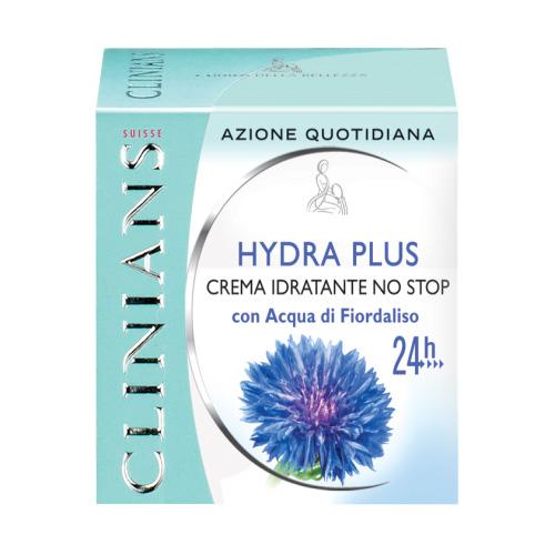 Clinians Hydra Plus Crema Idratante No Stop Con Acqua di Fiordaliso 50Ml