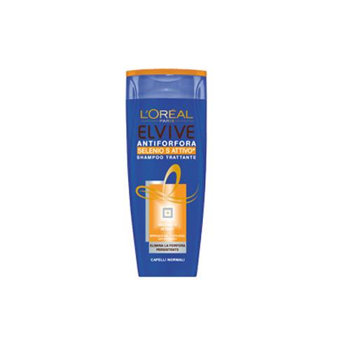 LOreal elvive Antiforfora Selenio S Attivo Shampoo Capelli Normali 250 ml
