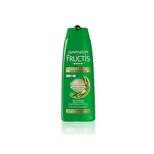 Garnier Fructis Shampoo Per Capelli Secchi Danneggiati O Spenti Oleo Repair 250 Ml