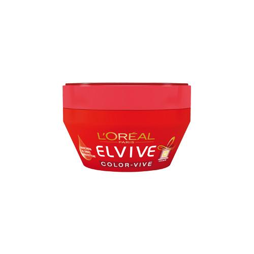 Elvive Maschera Per Capelli Protettiva Color Vive Per Capelli Colorati O Con Meches Vaso 300 Ml