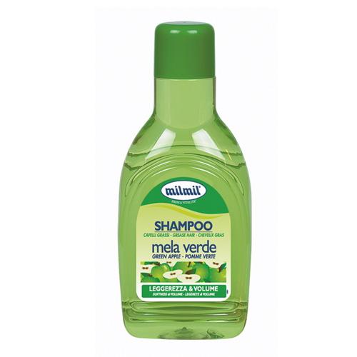 Mil Mil Shampoo Per Capelli Grassi Purificante Alla Mela Verde 1000 Ml