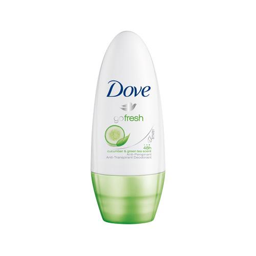 Dove Deodorante Go Fresh RollOn 50 Ml Senza Alcool